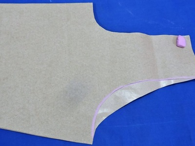 TIPS FOR ARM HOLE CUTTING  (easy and clear)