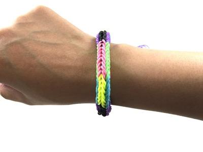 FINGER LOOM BRACELETS-How to make rubber band bracelets