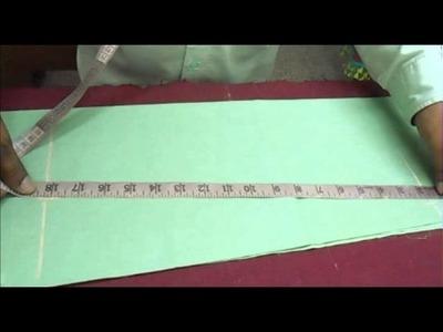 Full sleeve designer Salwar Kameez Cutting:Modern Kameej Sleeve Designs Cut