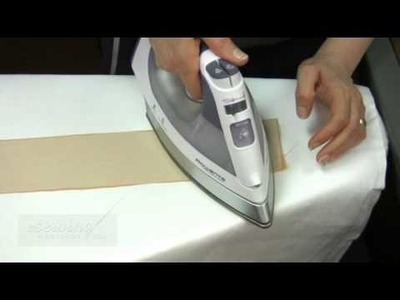 Fusing the Interfacing to the Waistband and Slit (Free Sample)