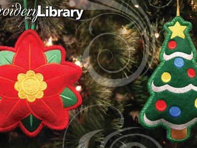 Heirloom Stuffed Ornaments, In the Hoop