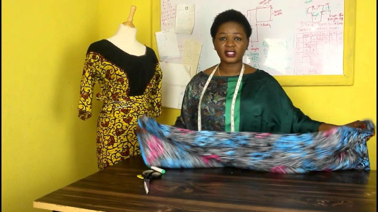 How to Cut the traditional african Buba or blouse