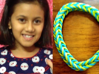 How to make a fishtail bracelet   Crazy Loom