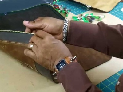 How To Make A Leather Drum Stick Bag