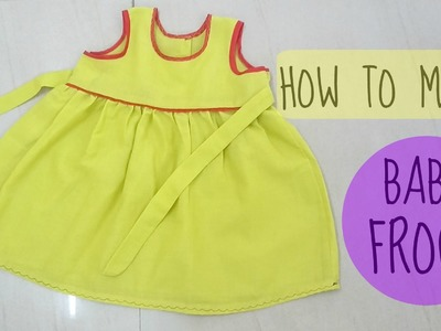 How to make baby frock | measurement,cutting,sewing | anjalee sharma