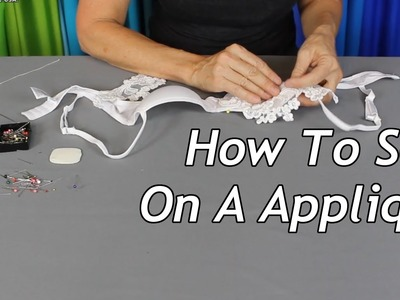 How To Sew On A Applique