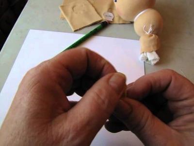 Lets make ears how to make  cloth doll ears
