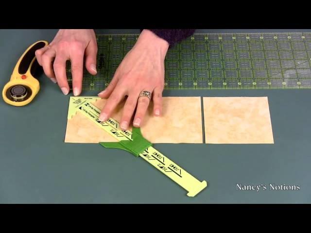 Make half-square and quarter-square triangle quilt blocks the easy way