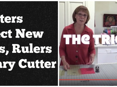 """Quilters Select Rotary Cutting System- with """"The Trick"""""""