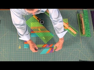 Quilting Tutorial - Cutting Sewn Strips, Strata and Layered Strips