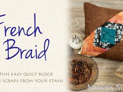 Scrappy French Braid Block Tutorial