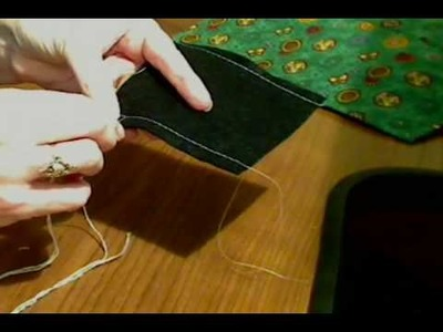 Sewing Blanket Stitch