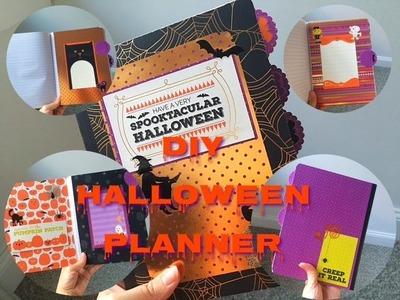 2016 DIY Halloween Planner. Journal Tutorial