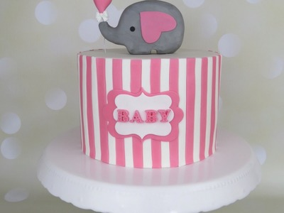 Baby Shower Candy Bar - Elephant CAKE