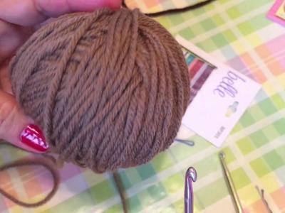 Crochet Mini Chocolate Chip Cookie Applique