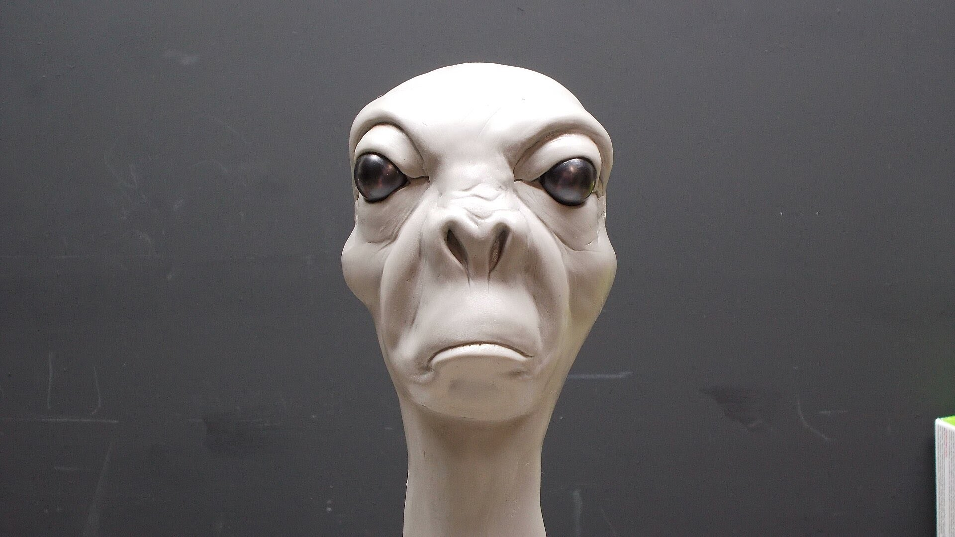 Grumpy Alien, Part 1.