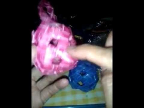 How to create small  ball recyclable  plastic straw ,,demonstration