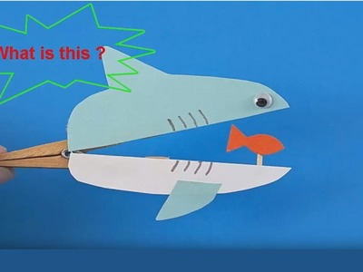 How To Make A Cute Shark From Clothespin│DIY Tutorial│ ♥Hgchannel♥