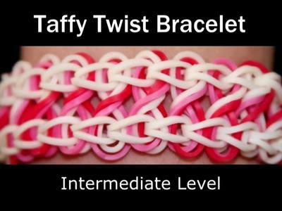 How to make a Rubber Band Taffy Twist Bracelet - Medium Level