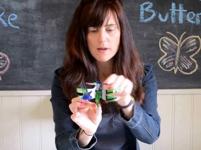 How to Make a Tin Can Butterfly