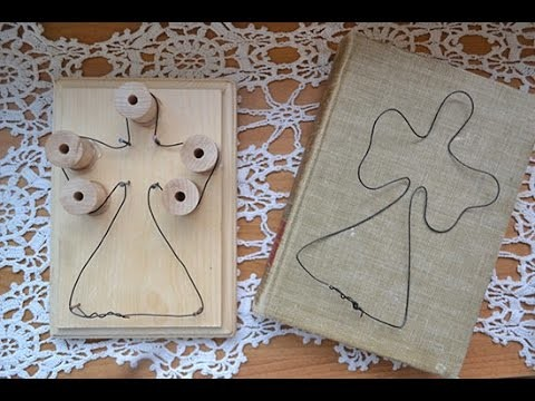How to Make Wire Frame Angels