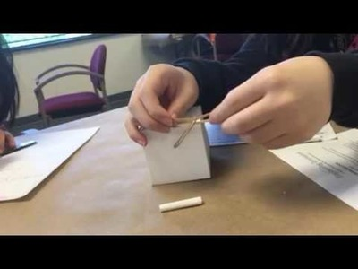 How to tie a simple rubber band knot