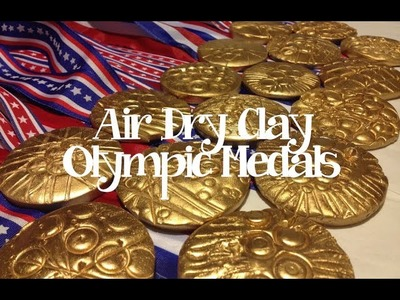 """Kids Art: """"Going for GOLD!"""" - make your own Olympic Medal"""