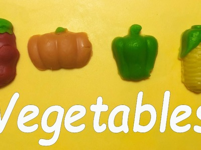 Modeling Clay: Play and Learn Vegetables