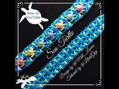 NEW Rainbow Loom SEA TURTLE Bracelet (Hook Only)