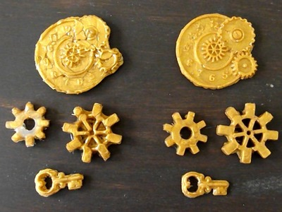 Nicole Does Stuff #26: Mod Podge Mini Glue Gun Melts & Steampunk Molds