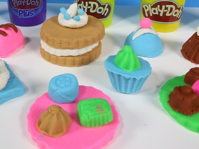 Play Doh Creations ♥ How To Make Playdough ♥ Play Doh Cake ♥ Playdough Recipe