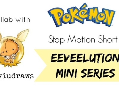 Pokemon [Jolteon] Stop Motion Short Eeveeltution Mini Series [Polymer Clay] Collab with Myiudraws