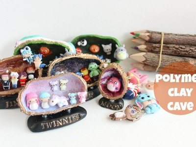 Polymer Clay Charms Update #12 : Custom Cave Figurines & adventure times