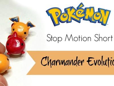 "Polymer Clay ●Stop Motion Short● ""Pokemon Evolution: Charmander"""