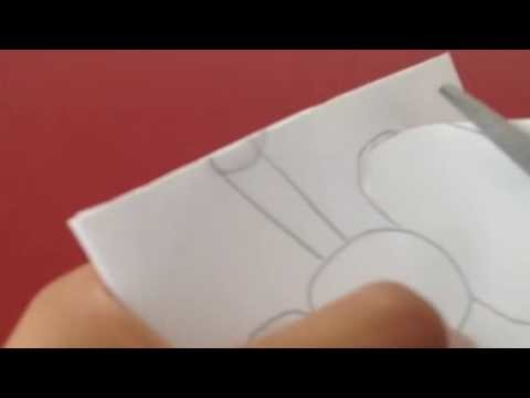 How to make a snowman out of paper