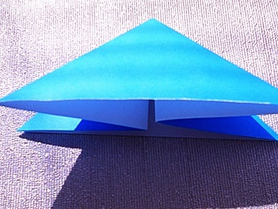 How to make a Waterbomb Base or Triangle Base | Origami Cat