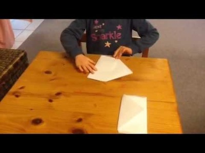 How to make an envelope from 1 sheet of paper