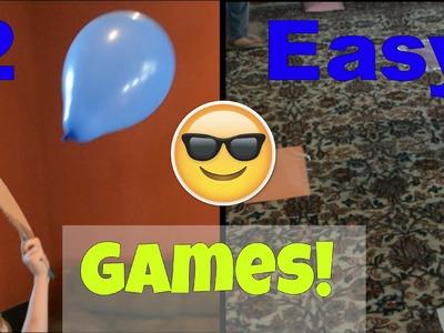 2 Easy Indoor Kids Games-CraftyMip's Munchkin Masterpieces-Easy Kids Craft-