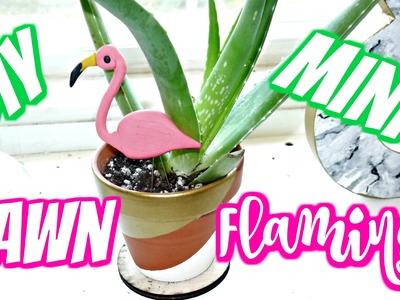 DIY: Mini Lawn Flamingo