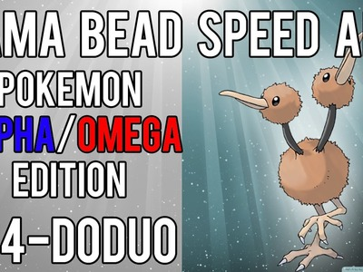 Hama Bead Speed Art | Pokemon | Alpha.Omega | Timelapse | 084 - Doduo