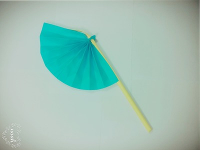 How To Make A Paper Hand Fan | Paper Origami