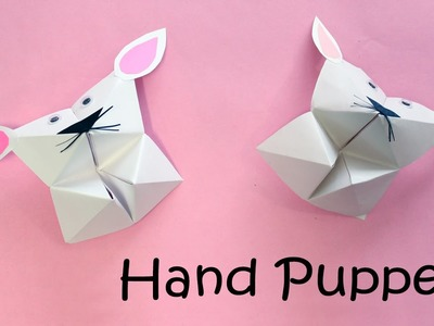 How To Make Hand Puppet With Paper | DIY Easy Craft Ideas