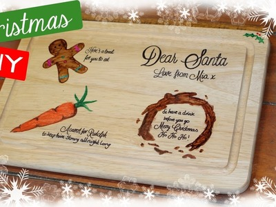 Cheap Christmas DIY - Xmas Eve Cookies for Santa Board