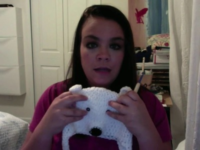 How to Crochet a Polar Bear Hat