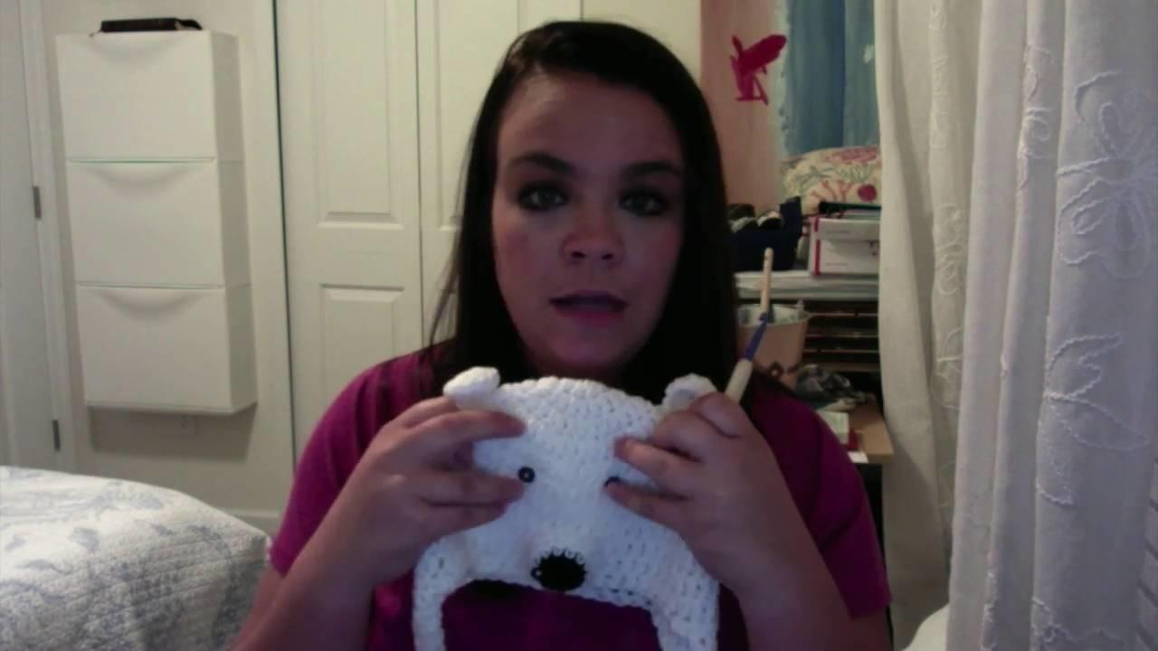 How to Crochet a Polar Bear Hat