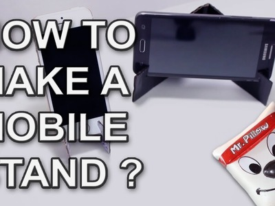 How To Make A Mobile Stand | DIY | Easy DIY Project