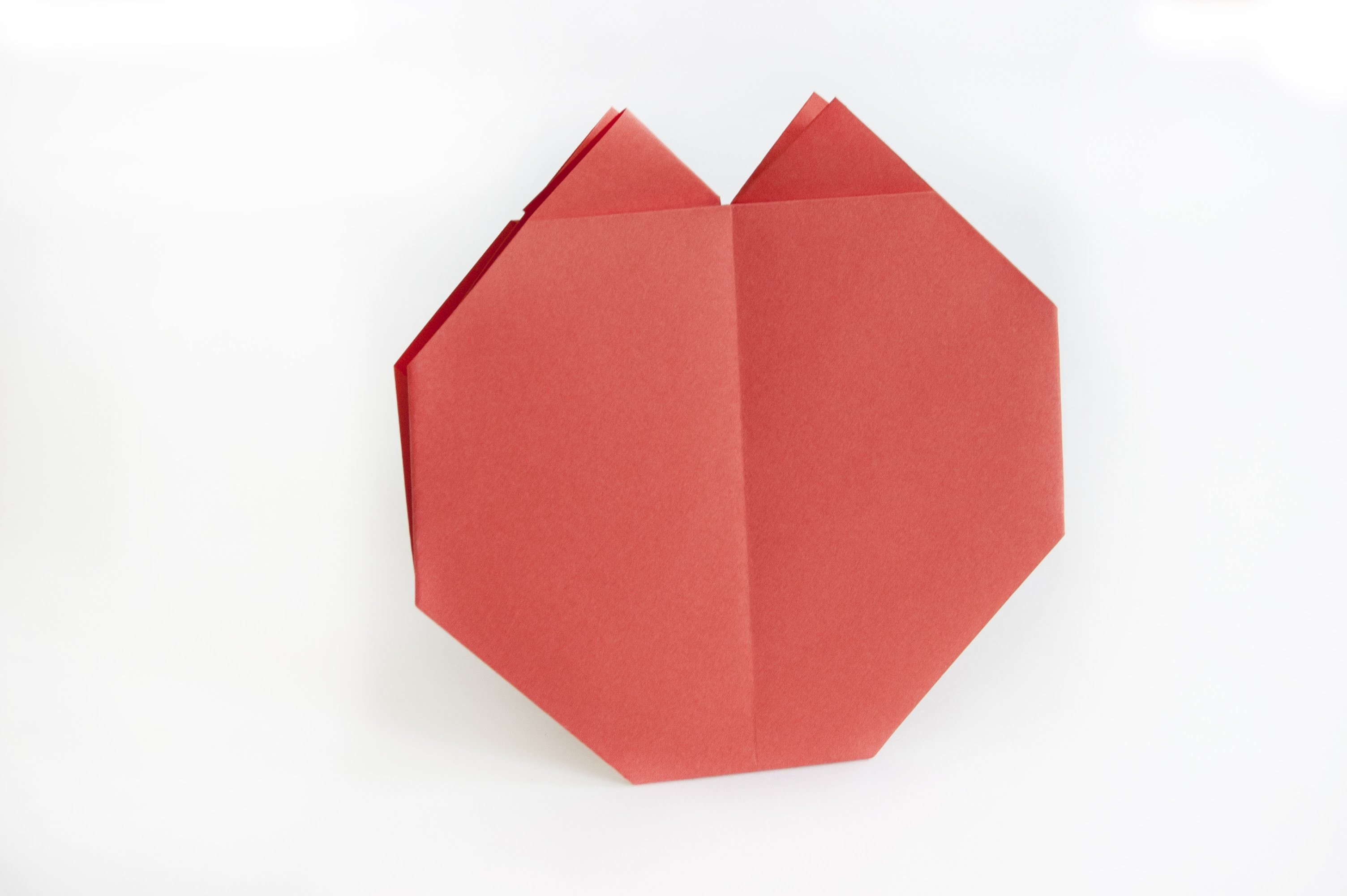 How to make a paper Tomato | origami Vegetables |  Easy origami