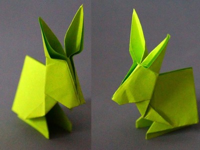 How to make an Origami Rabbit. DIY beauty and easy