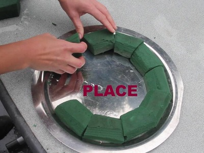 How to make the base of an Oasis wreath