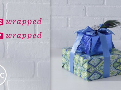 How To Wrap Stacked Gifts